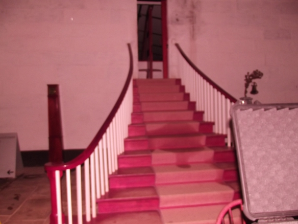 Chapel stairs in the Separate Prison
